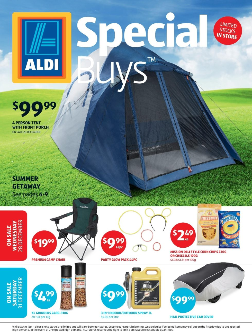 ALDI Special Buys 28 December to while stocks last  sc 1 st  Bargains AU & ALDI Special Buys 28 December to while stocks last - Bargains AU