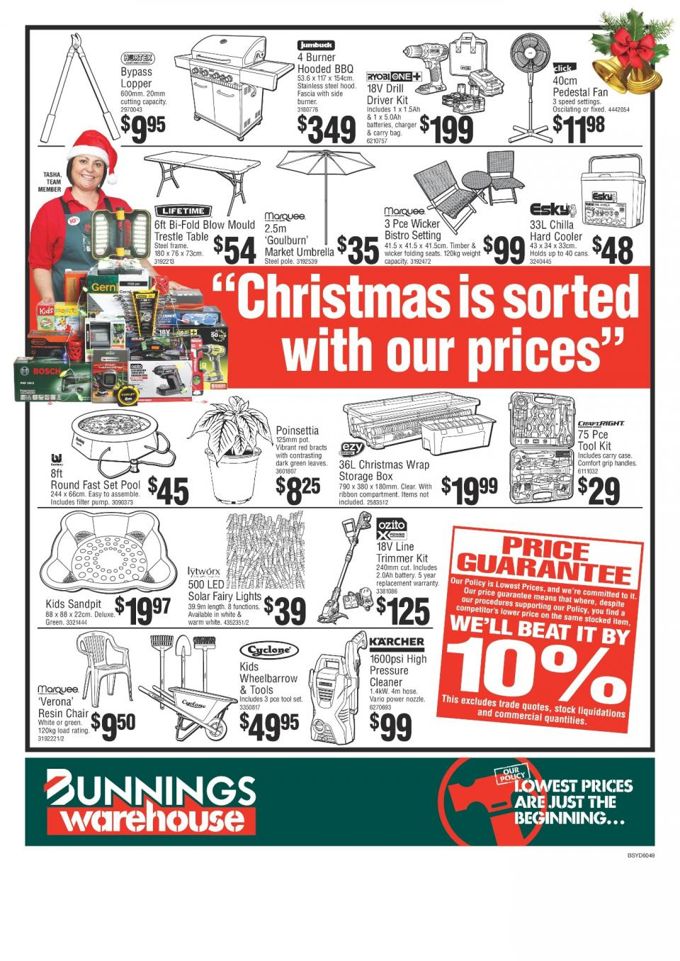 Bunnings Catalogue Christmas Sale 2017