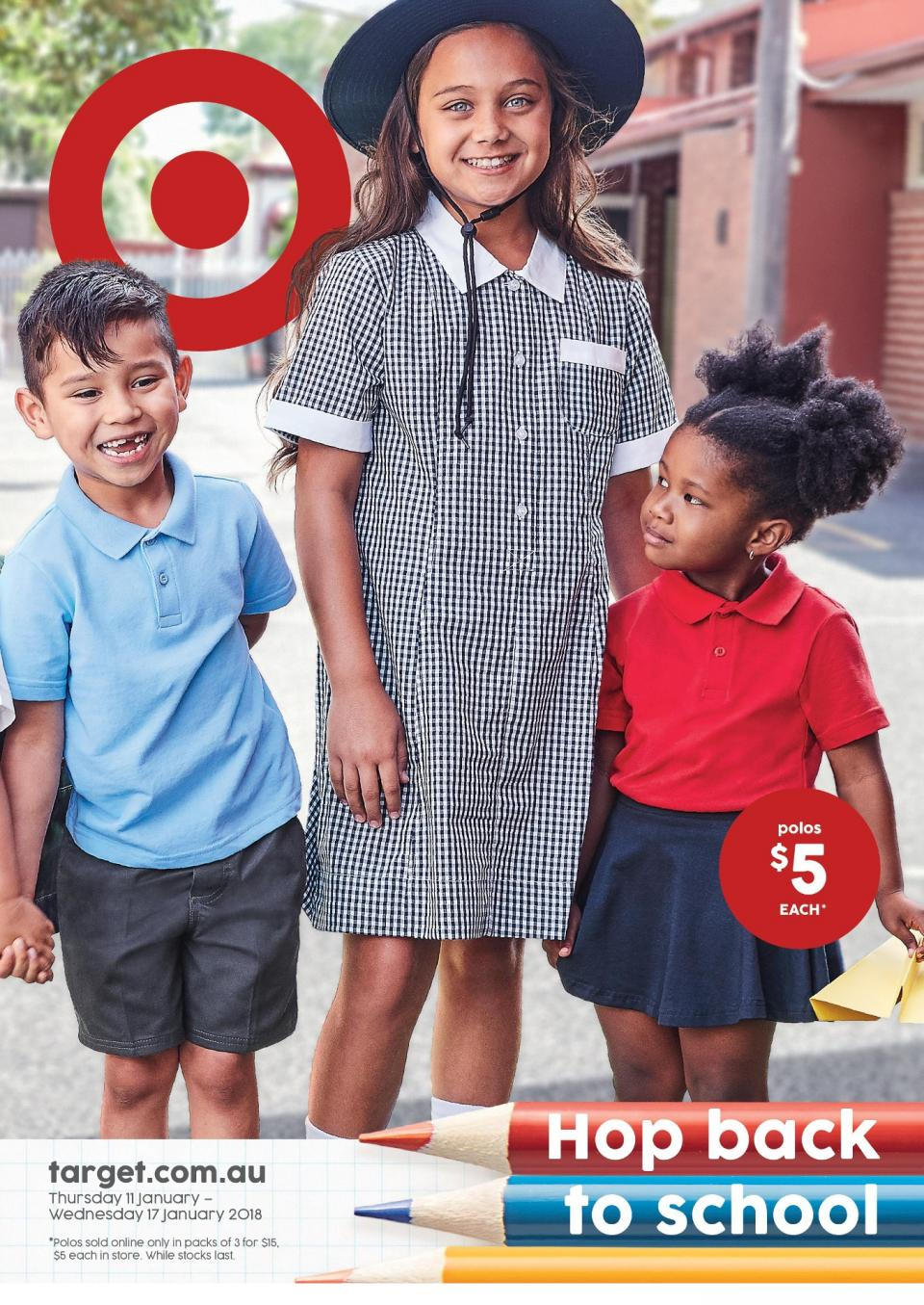 Target Catalogue 10 - 17 January 2018