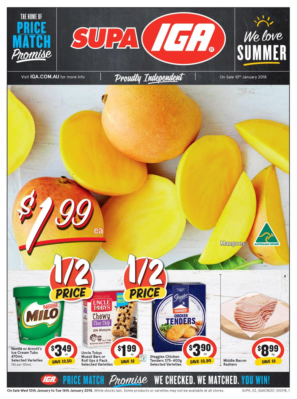 IGA Catalogue 10 - 16 January 2018