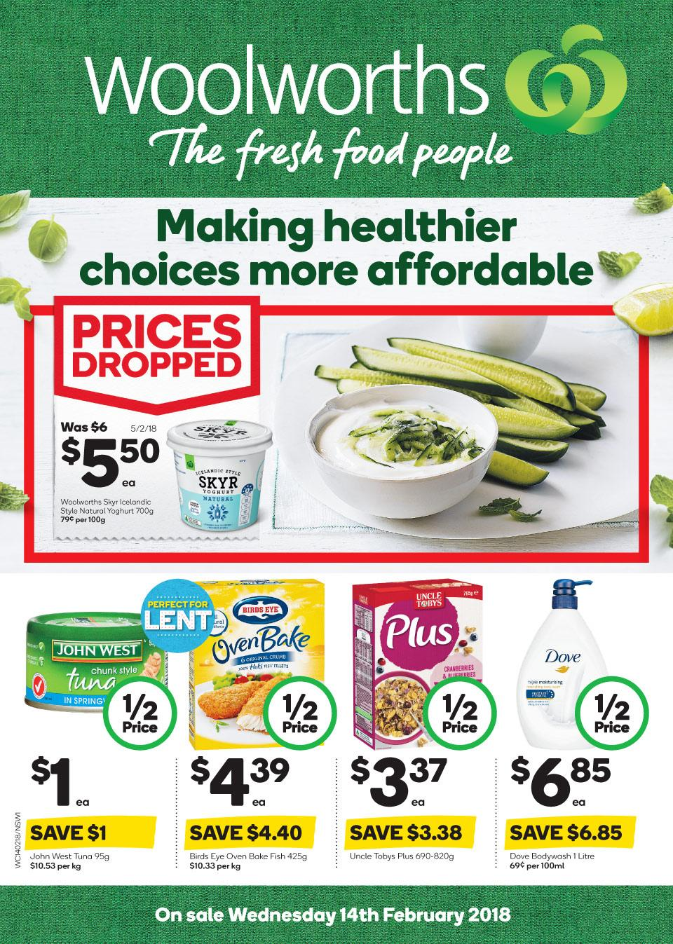 Woolworths Catalogue 14 - 20 February 2018