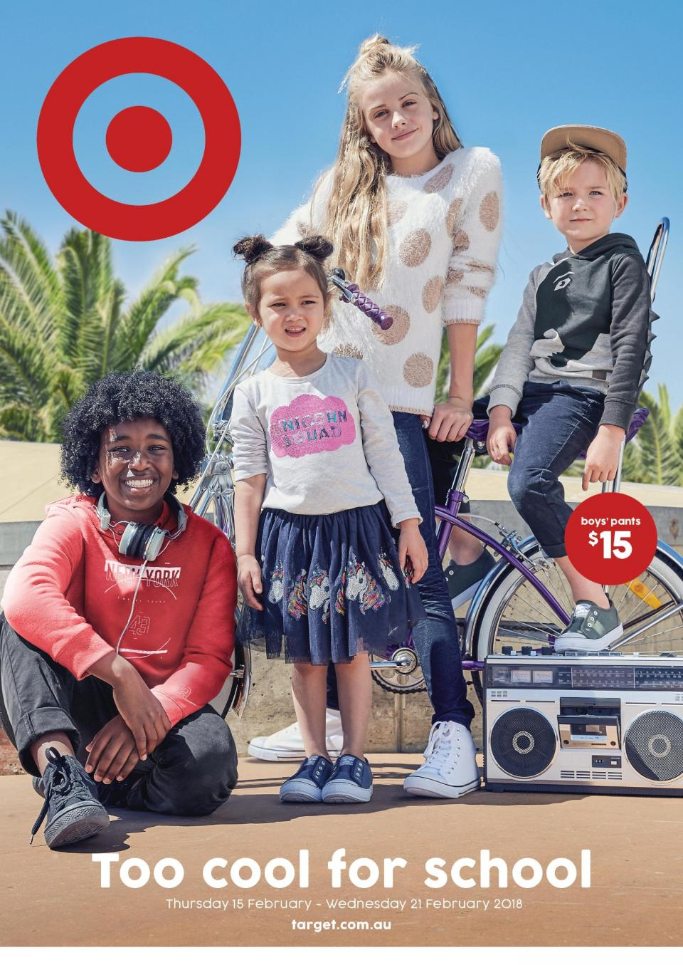 Target Catalogue 14 - 21 February 2018