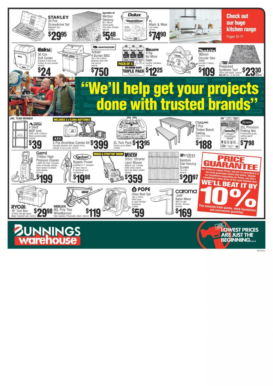 Bunnings Catalogue March 2018