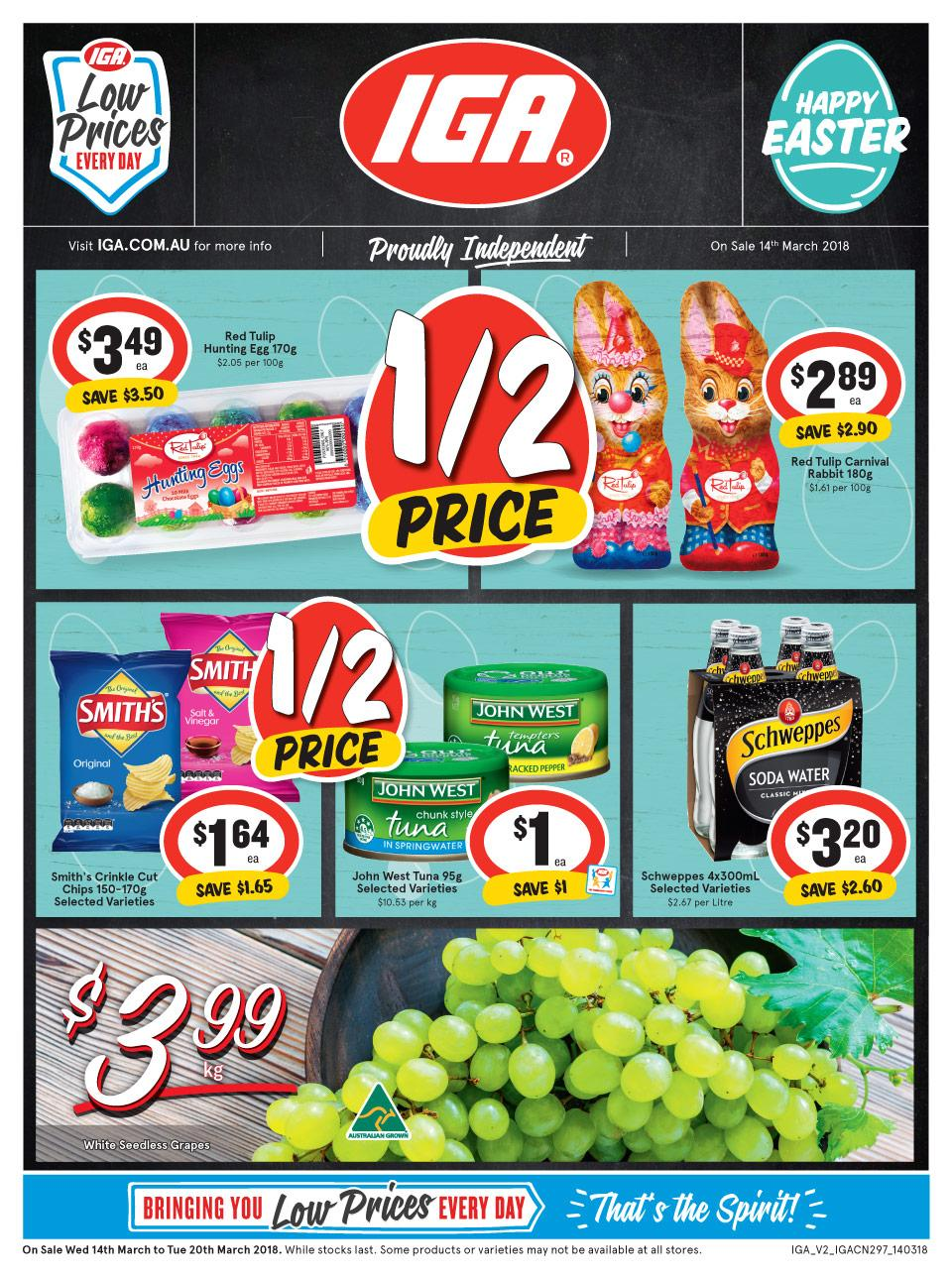 IGA Catalogue 14 - 20 March 2018