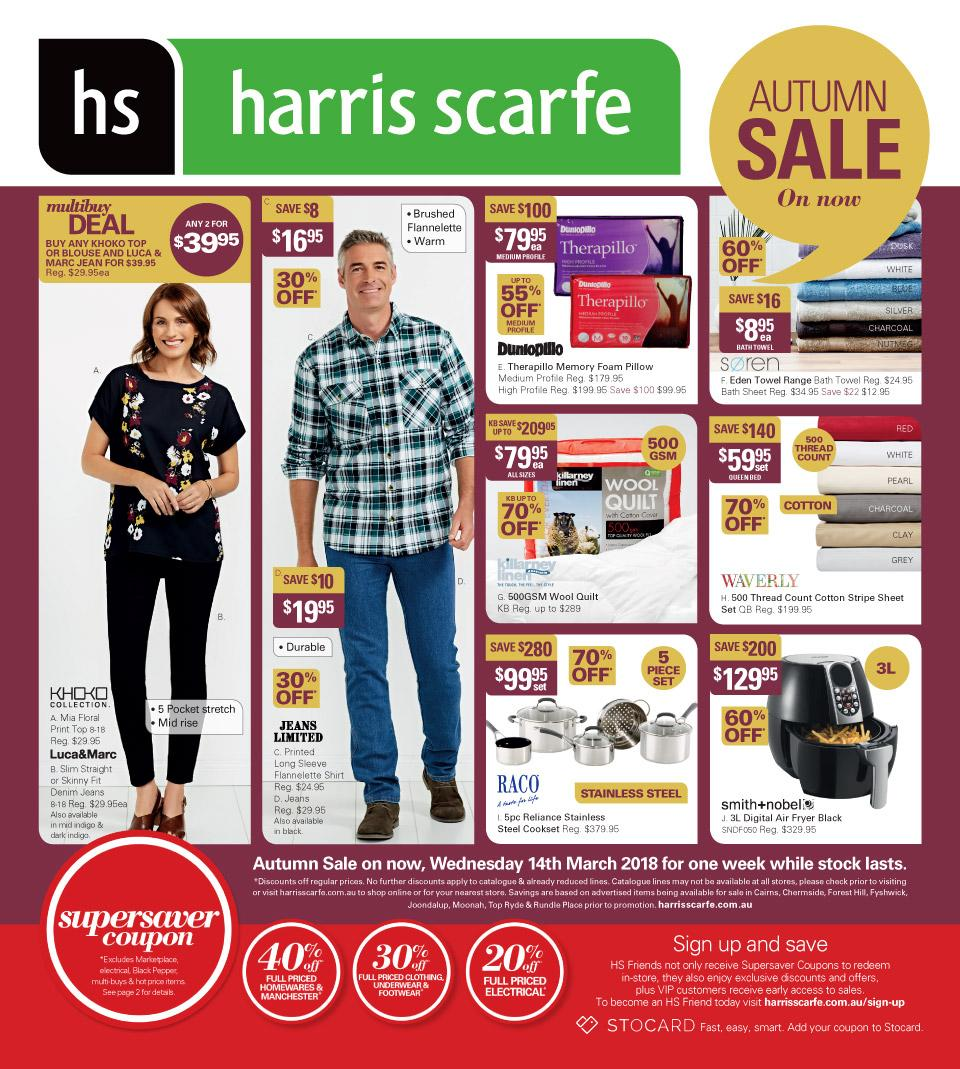 Harris Scarfe Catalogue 14 - 20 March 2018