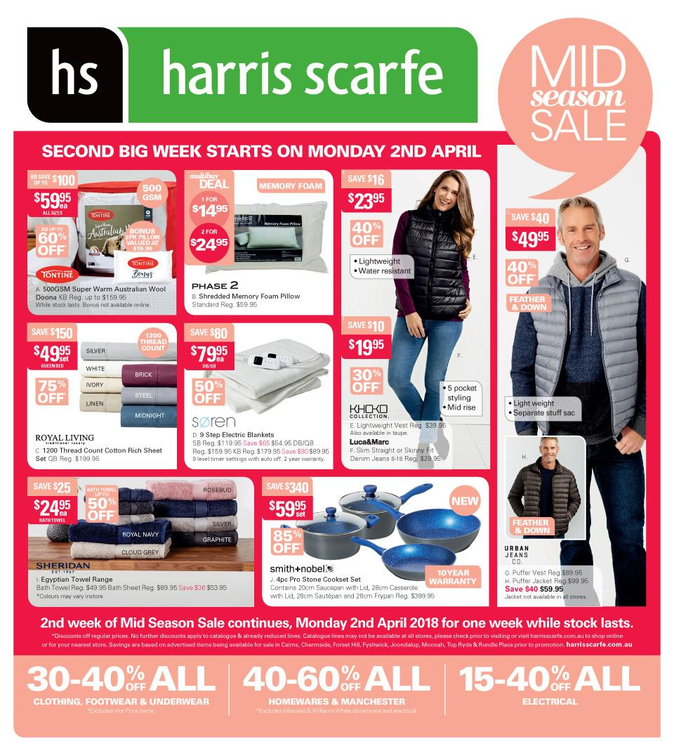 Harris Scarfe Catalogue 2 - 8 April 2018