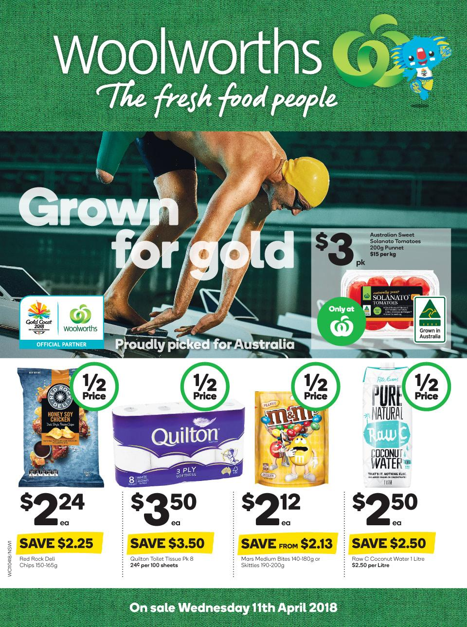 Woolworths Catalogue 11 - 17 April 2018