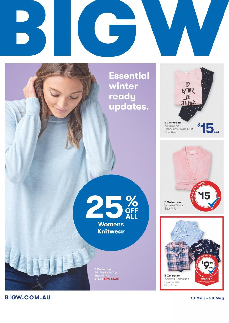 Big W Catalogue 10 - 23 May 2018