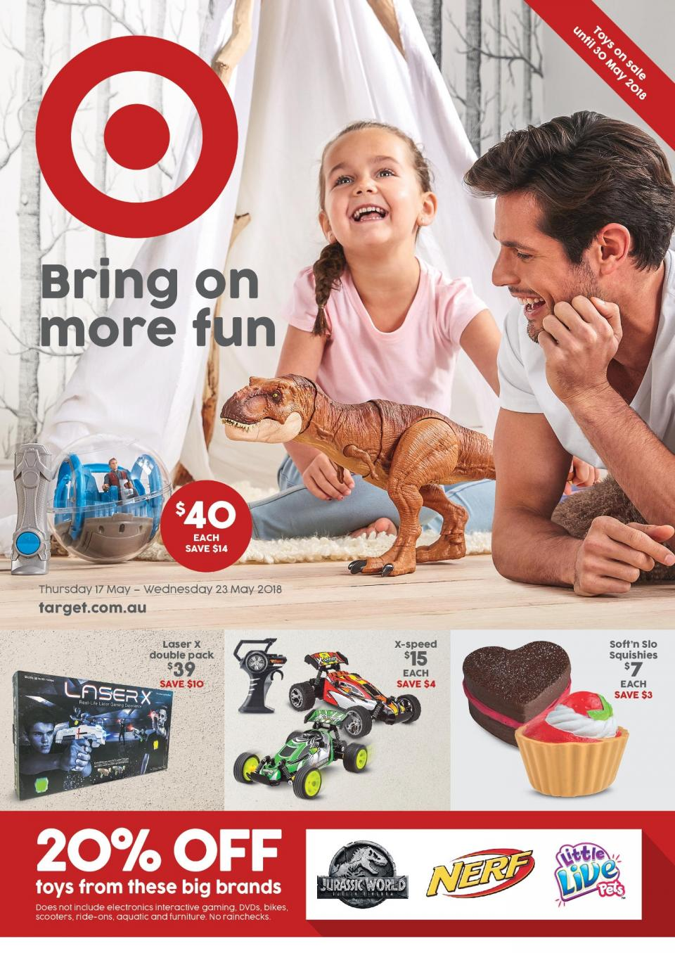 Target Catalogue 17 - 23 May 2018
