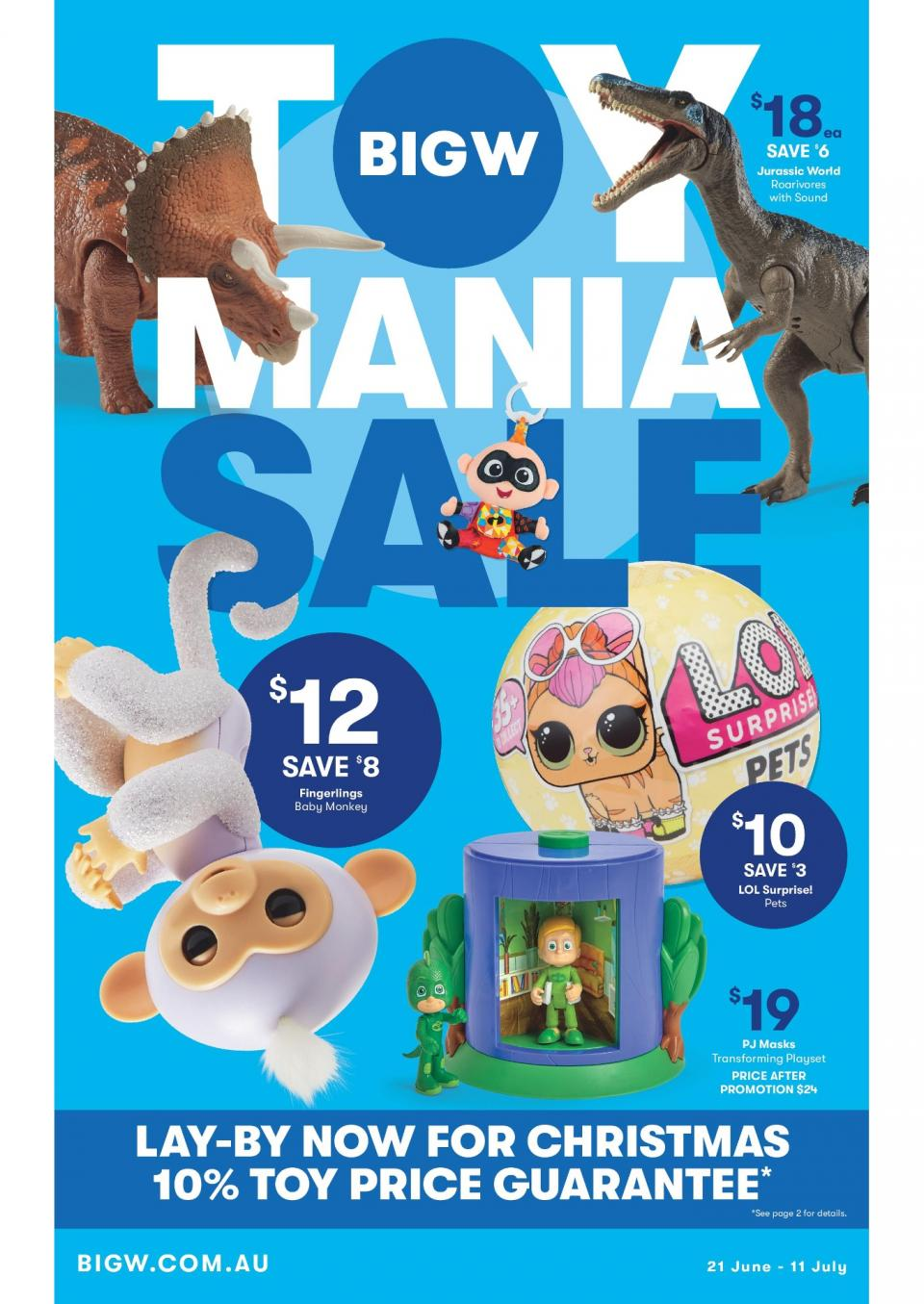 Big W Catalogue Toy Mania Sale June 2018 - Bargains AU