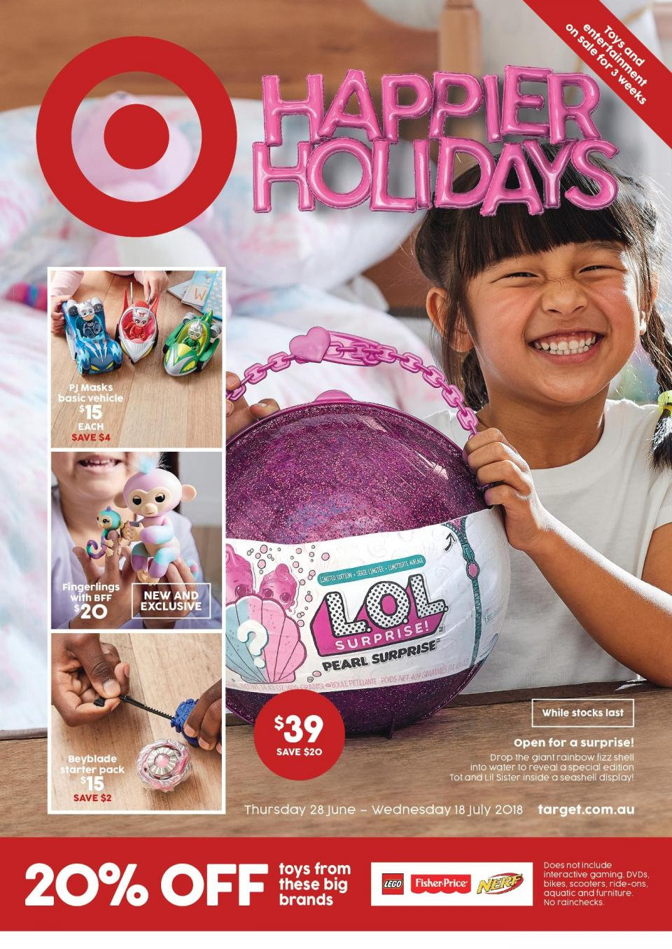 Target Catalogue Toy Sale 2018