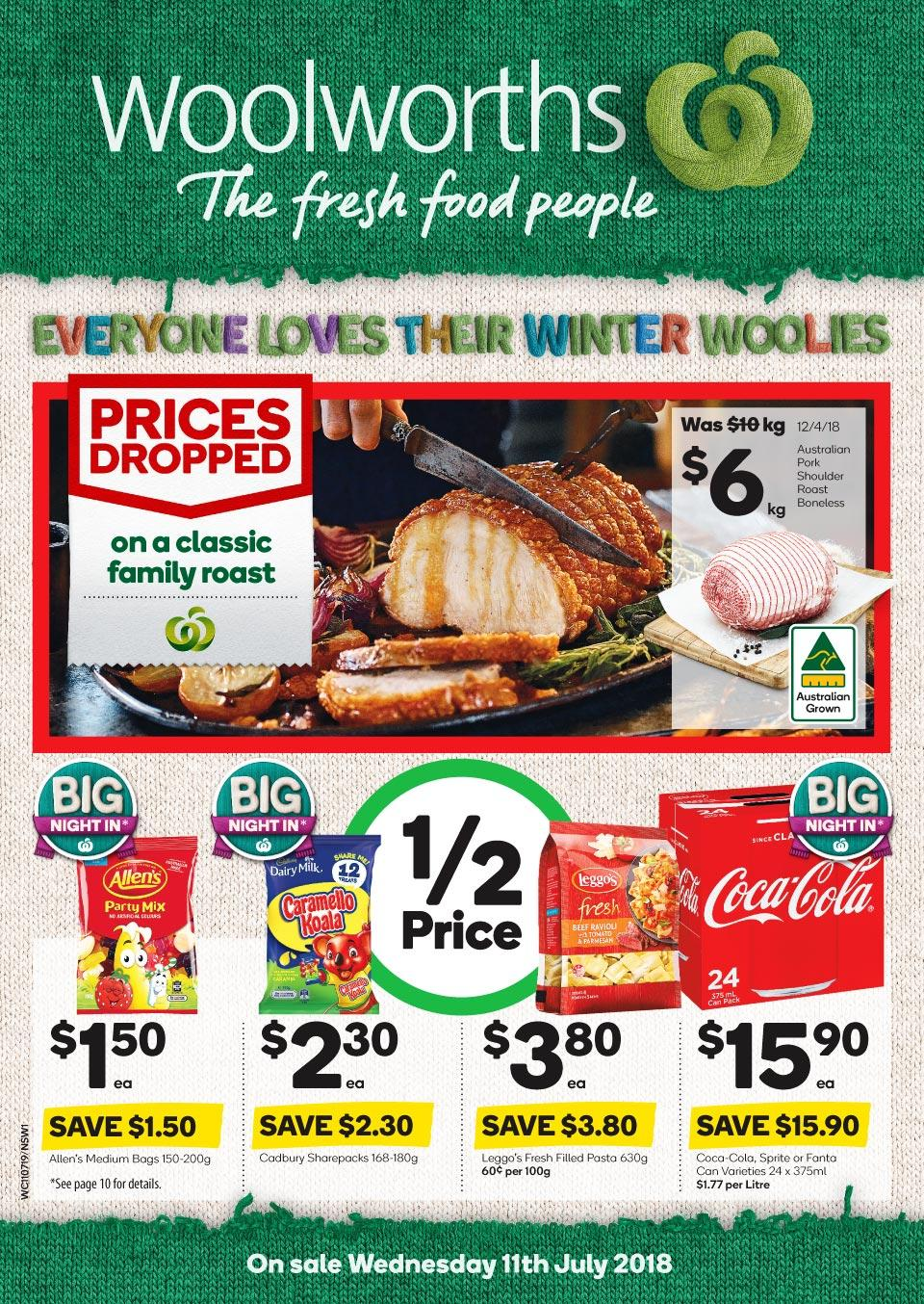 Woolworths Catalogue 11 - 17 July 2018