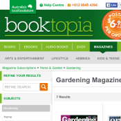 Gardening Magazines Discounts from Booktopia Grass Roots - 12 Month Subscription $38.25 Deal Image