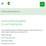 Telstra Home Phone Plan Basic $24.95 Before October 1 Deal Image