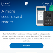 Paypal Credit Card Reader $49 Deal Image