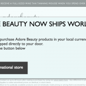 Get 2 FREE Samples On Orders Over $50 @ Adore Beauty Deal Image