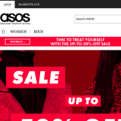 Black Friday, INSTANT 20% OFF with Free Shipping @ ASOS Deal Image