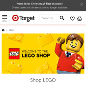 20% off LEGO Toys @Target Deal Image