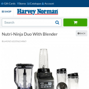 Nutri-Ninja Duo With Blender $193 @Harvey Norman Deal Image