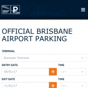 Official Brisbane Airport Parking Book 10 days or more, pay $8 per day  Deal Image
