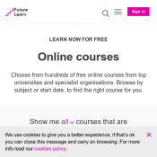 Free Online Courses 3D Graphics, Fashion Industry Etc @Futurelearn Deal Image
