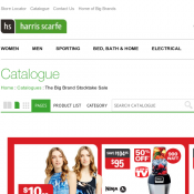 50% OFF ALL Tosca, Swissgear and Qantas Luggage @Harris Scarfe Deal Image