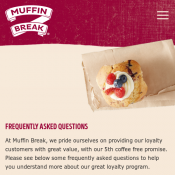 Muffin Break 5th Coffee Free for loyalty Customers Deal Image