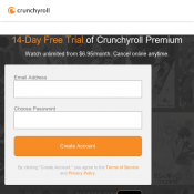 14-Day Free Trial of Crunchyroll Premium  Deal Image