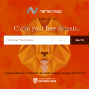 Name cheap Free Domain for Students  Deal Image