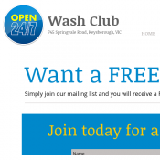 Free Car Wash On Your Birthday @Mywashclub Deal Image
