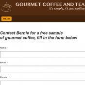 Gourmet Coffee and Tea Free Coffee Sample Deal Image