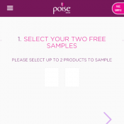 2 Free Samples @Poise  Deal Image