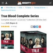 True Blood Complete Series $43 (RRP $199.99)  Deal Image