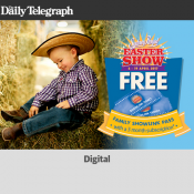 Sydmey Royal Easter Show Free 6-19 April with 3 months subscription Deal Image