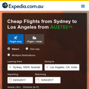 Cheap Flights from Sydney to Los Angeles from $782.65 @Expedia Deal Image