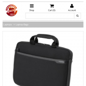 "Toshiba 15.4"" Neoprene Sleeve Laptop Notebook Bag $15 (RRP $33) @Shoppingexpress Deal Image"