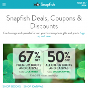 60% OFF All Photoblocks with code @Snapfish Deal Image