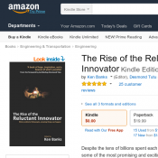 FREE eBook - The Rise of the Reluctant Innovator @ Amazon