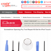 Screwdriver and Pry Tool Kit $9.99 @ Crazy Sales Deal Image