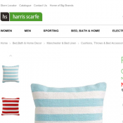 Rapee strada woven cotton cushion 45cm $30 (Was: $69.95) @Harris Scarfe Deal Image