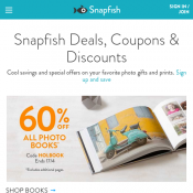 40% OFF Storewide + Free Delivery With Code @Snapfish Deal Image
