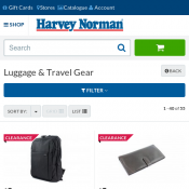 Luggage & Travel Gear - Backpack $20, Luggage lock $8, safe seals pack $13