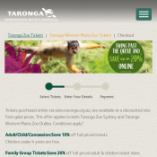 Taronga Western Plains Zoo Tickets 20% OFF Online Deal Image