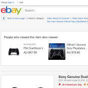 Sony Genuine DualShock 4 Wireless Controller for PlayStation 4  $72 Deal Image