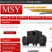 Creative SBS-A250 2.1 Audio System $30 @ MSY Deal Image