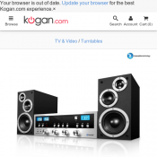 Innovative Technology Classic CD Stereo System with Bluetooth $59 (was $299) @ Kogan Deal Image