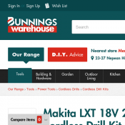 Makita LXT 18V 2 Piece Li-Ion Brushless Cordless Drill Kit $379 @ Bunnings Deal Image