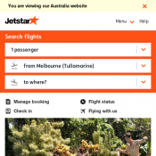 13th Birthday Sale - Return for Free - Melbourne to Launceston $59 @Jetstar Deal Image