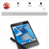 "Open Box Sale -- HP Pro Slate 8 Tablet 7.8"" FHD Touch with Duet Pen $289.00 (RRP $699.00) Deal Image"
