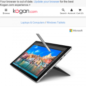 Microsoft Surface Pro 4 (128GB, m3, 4GB RAM) FOR $789 @ Kogan